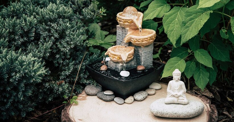 Perché tenere in casa una fontana o un giardino zen