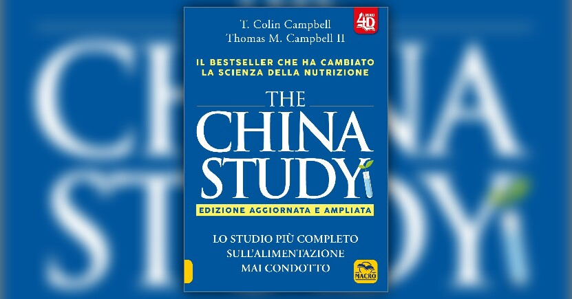 Anteprima - The China Study - LIBRO del Dr. Campbell