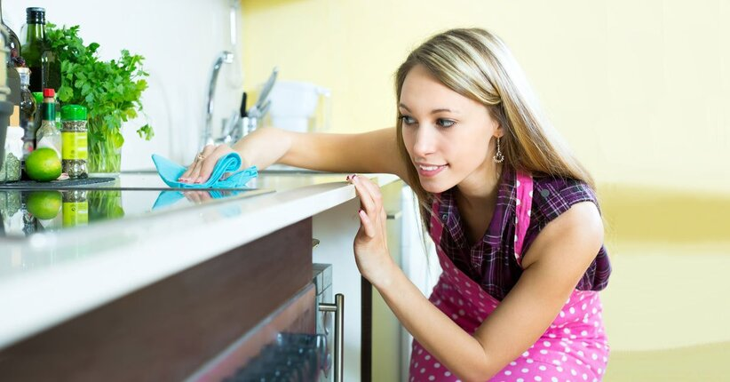 Tieni pulita la tua cucina con i prodotti eco for Realizza la tua cucina