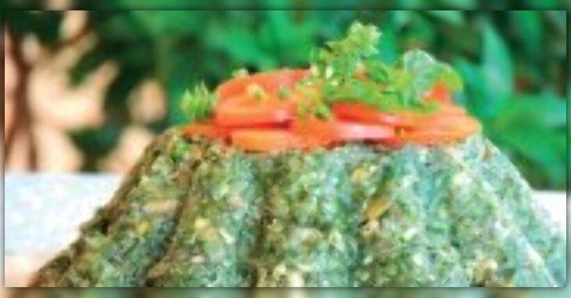 Torta salata con bietole, quinoa e nocciole