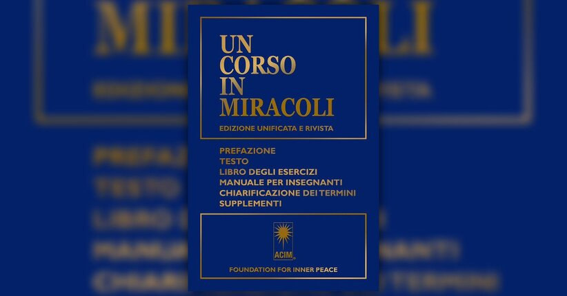 """Tratto dal libro """"Un corso in miracoli"""""""