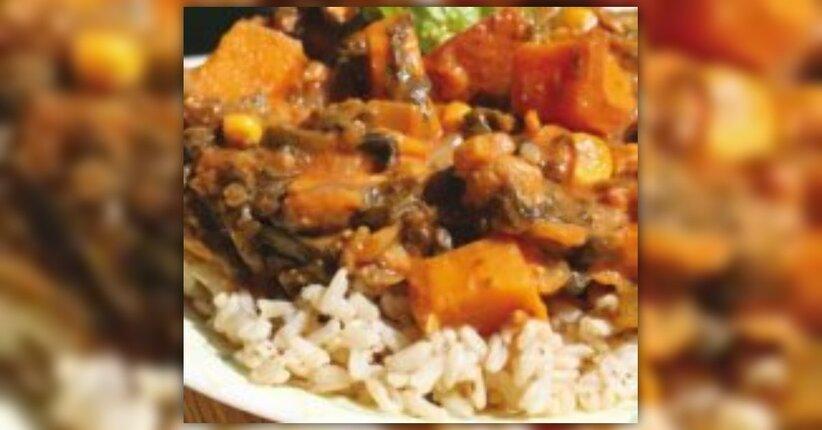 Verdure Africane - Ricetta estratta dal ricettario di Leanne Campbell