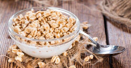 3 ricette a base di cereali soffiati