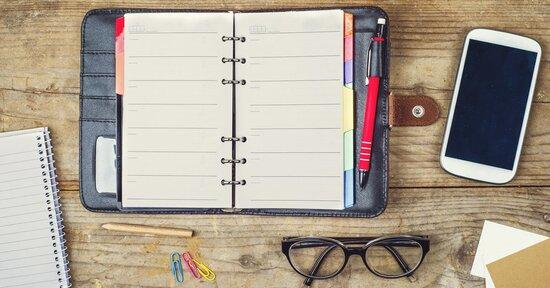 Come scegliere la propria agenda?