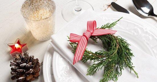 Decora in modo eco-originale la tua tavola di Natale