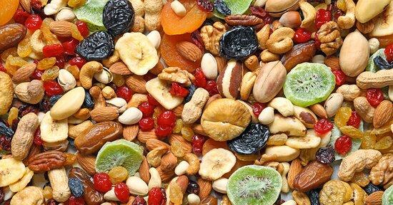 Frutta secca, elisir di buona vita