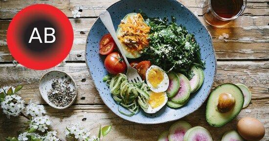 Gli alimenti benefici per il gruppo AB della dieta del dottor Mozzi