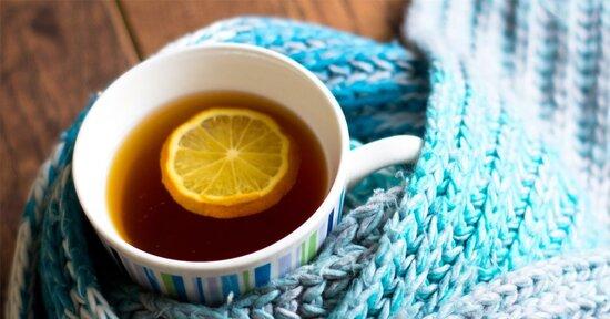 Gli infusi giusti per il raffreddore