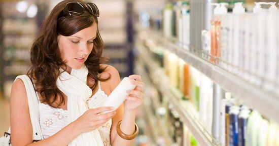 Leggere le etichette cosmetiche