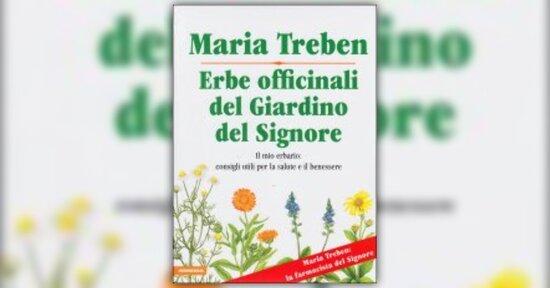 """Maria Treben presenta il suo libro """"Erbe Officinali del Giardino del Signore"""""""