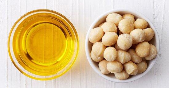Olio di macadamia: proprietà cosmetiche