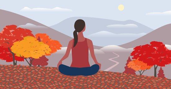 Yoga e Ayurveda per l'autunno e il cambio di stagione
