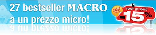 27 bestseller Macro a un prezzo Micro!