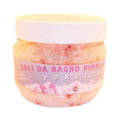 Sali da bagno himalayano purezza 1000 g ananda inner - Sali da bagno colorati ...