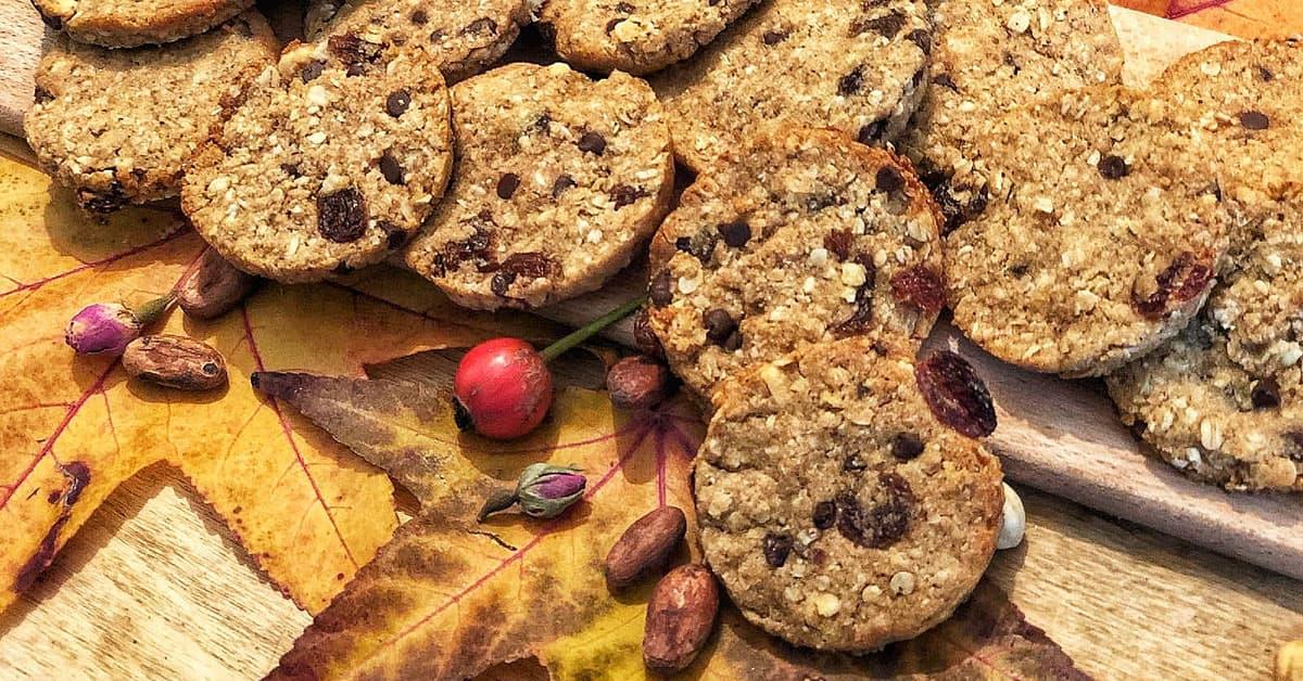 Biscotti ai cereali e nocciole