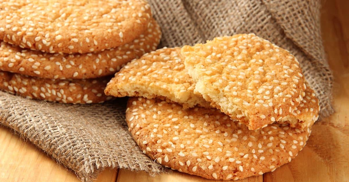 biscotti di farro sesamo e cannella