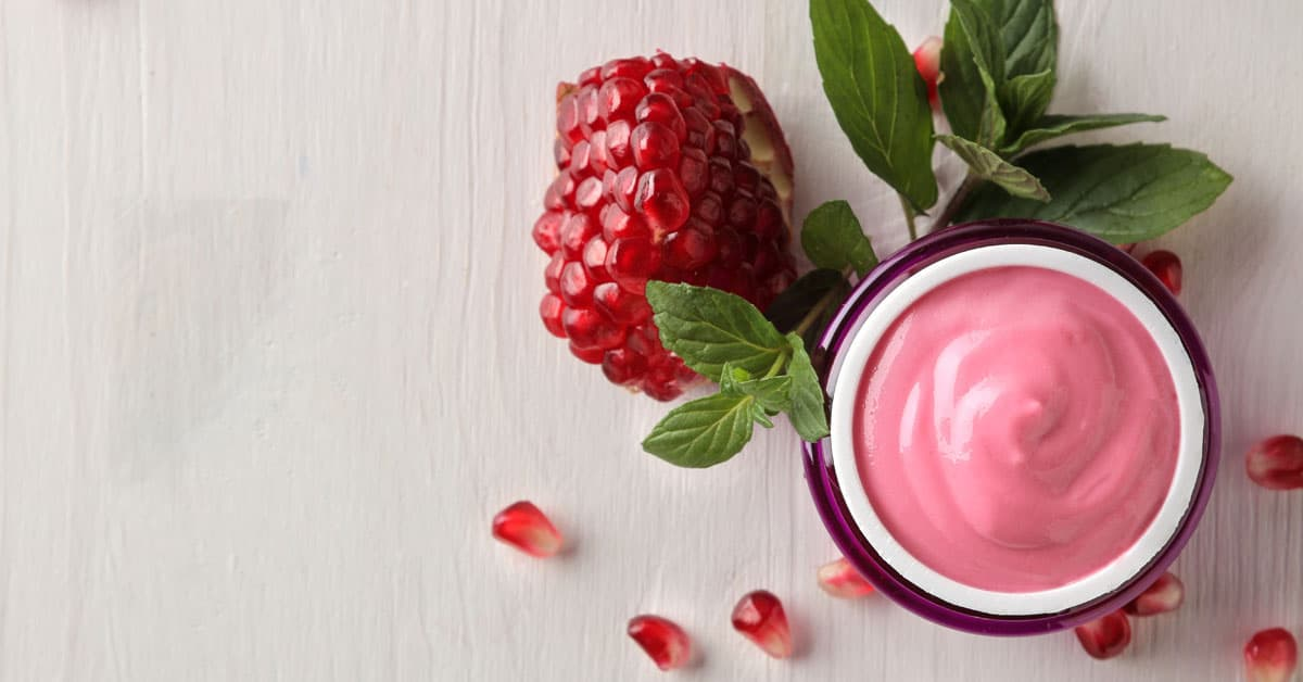 Burrocacao antiossidante alla melagrana