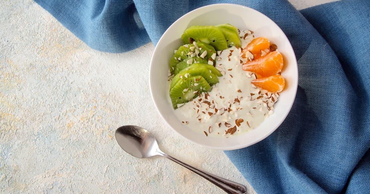 Crema budwig raw vegan con semi di girasole