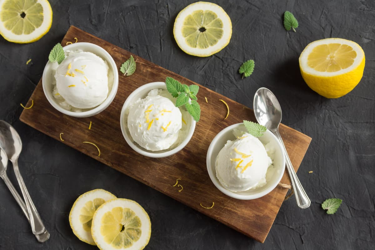 Crema al cocco e limone