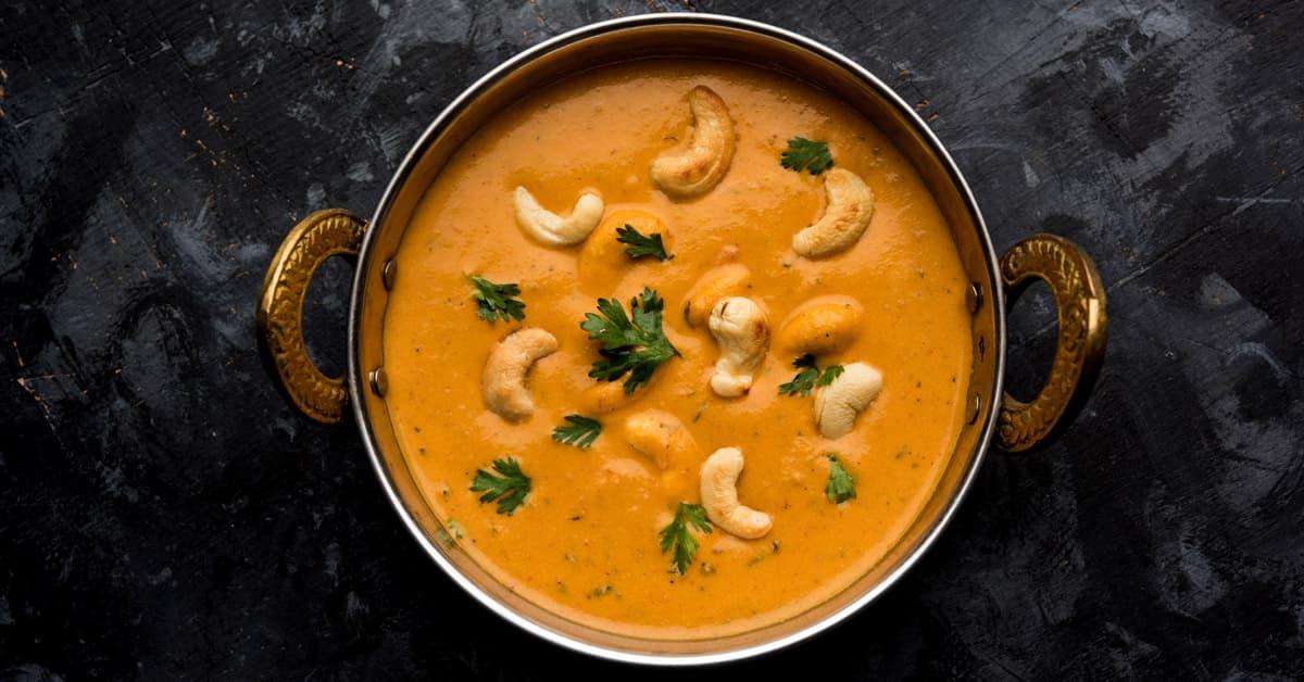 Curry di verdure e anacardi