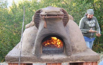 Corso pratico per la realizzazione di un forno in terra - Forno di terracotta ...