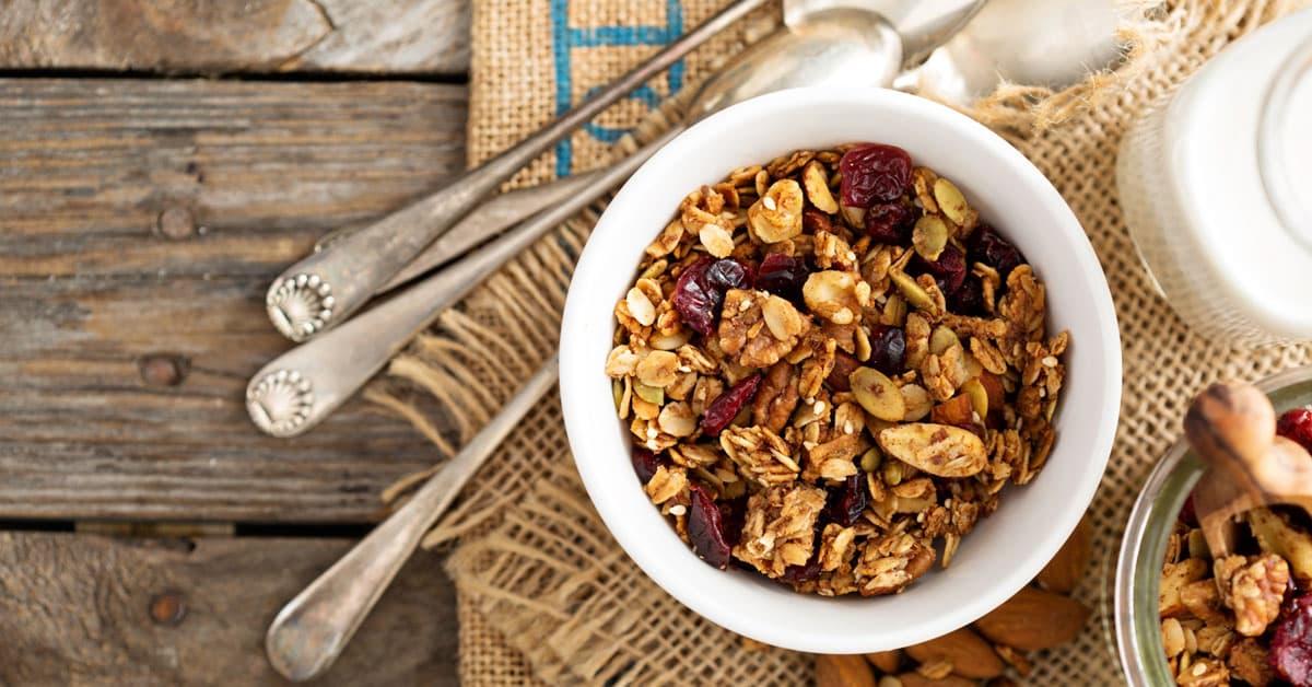 Piatto dolce della settimana:Granola Energetica