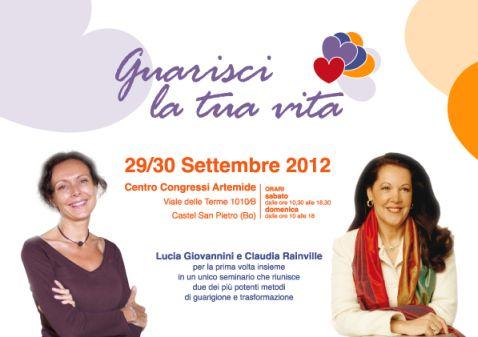 Guarisci la tua vita con Lucia Giovannini e Claudia Rainville