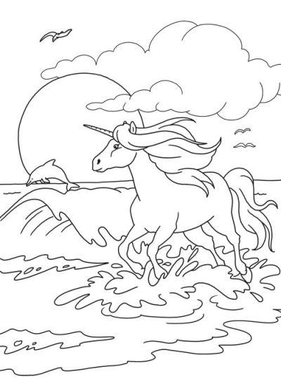 Cavalli magici for Immagini disegni cavalli