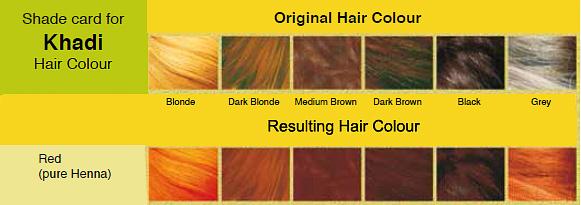 Colore Vegetale Per Capelli Rosso Henna Khad 236