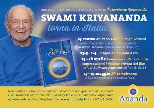 Eventi Gratuiti Swami Kriyananda