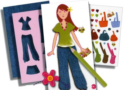 Tessuti, stencil, adesivi, indossatrici, suggerimenti e piccole