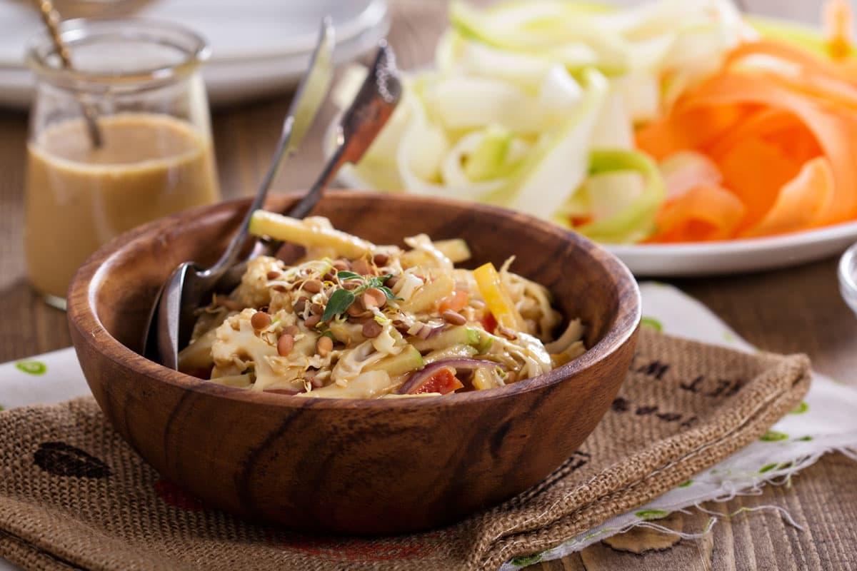 NonSpaghet..Thai al daikon e spezie