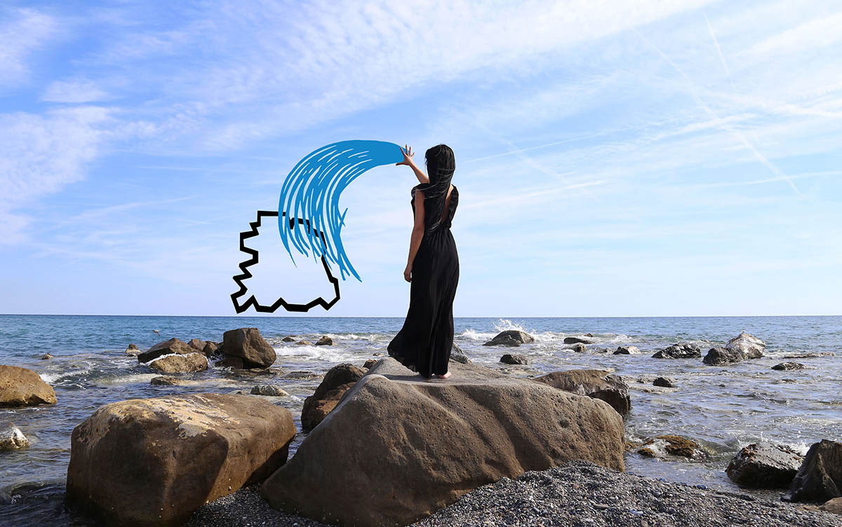 L'artista Chiara Mazzocchi interpreta i simboli espansi