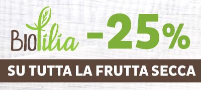 Frutta secca Biofilia -25%
