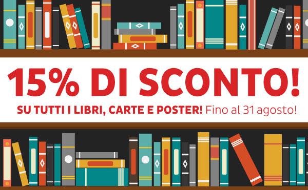 Agosto libri sconto 15%