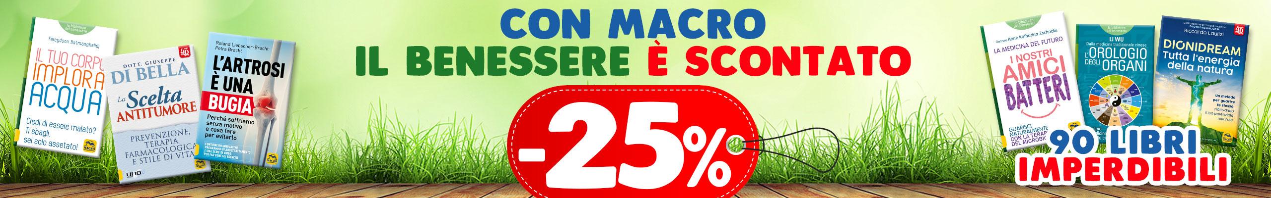 Macro benessere -25%