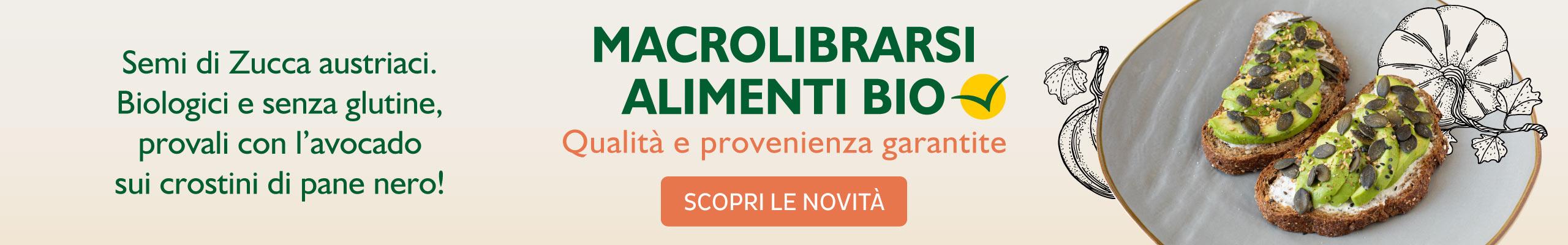 Semi di Zucca - Macrolibrarsi Alimenti Bio