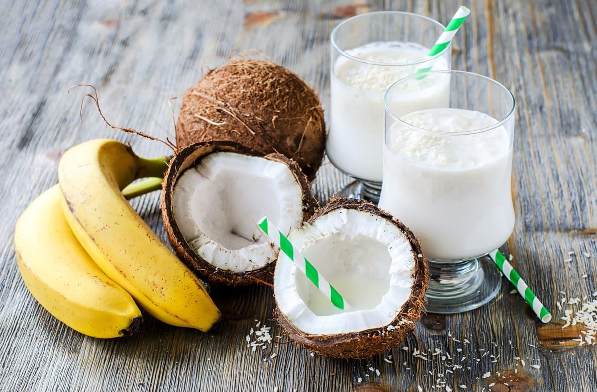 Latte di cocco a colazione