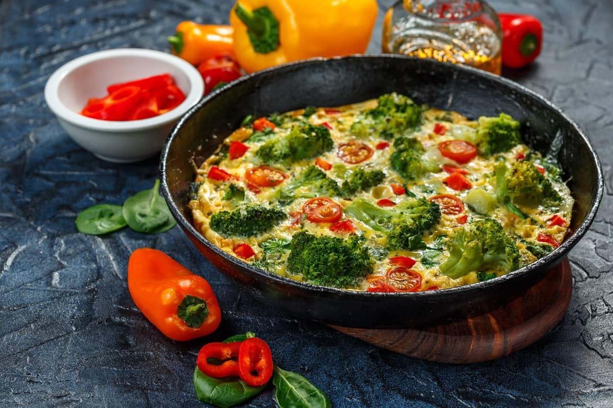 Farinata con le verdure