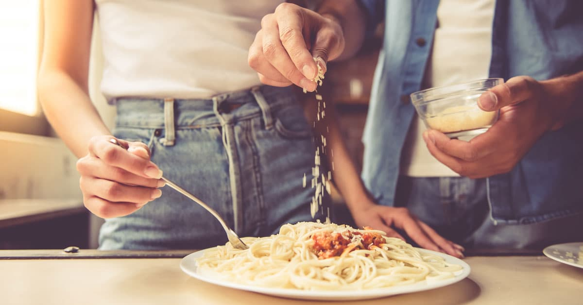 Parmigiano crudista