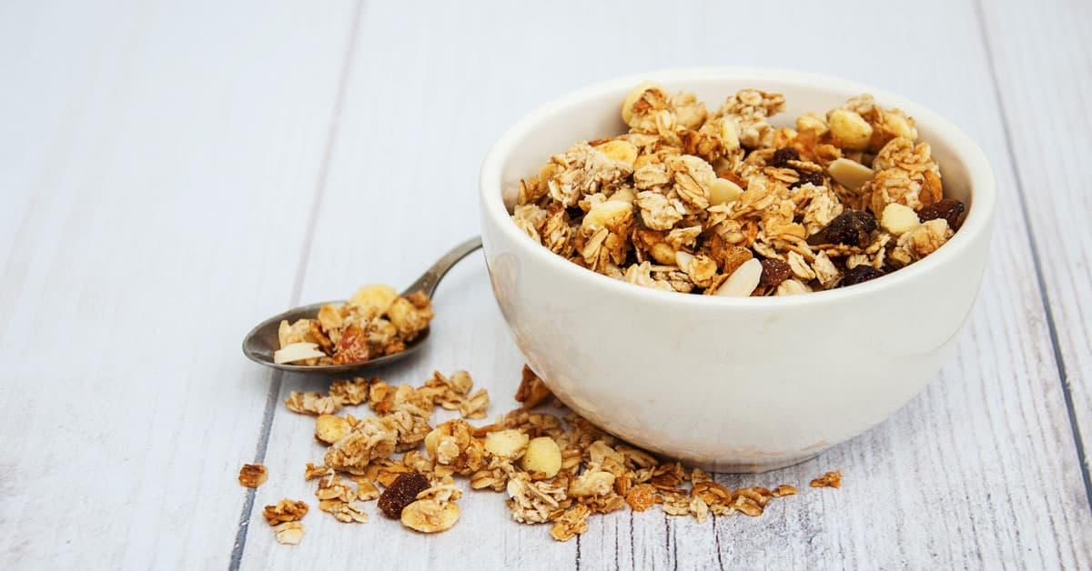 Granola agli scarti dei cereali