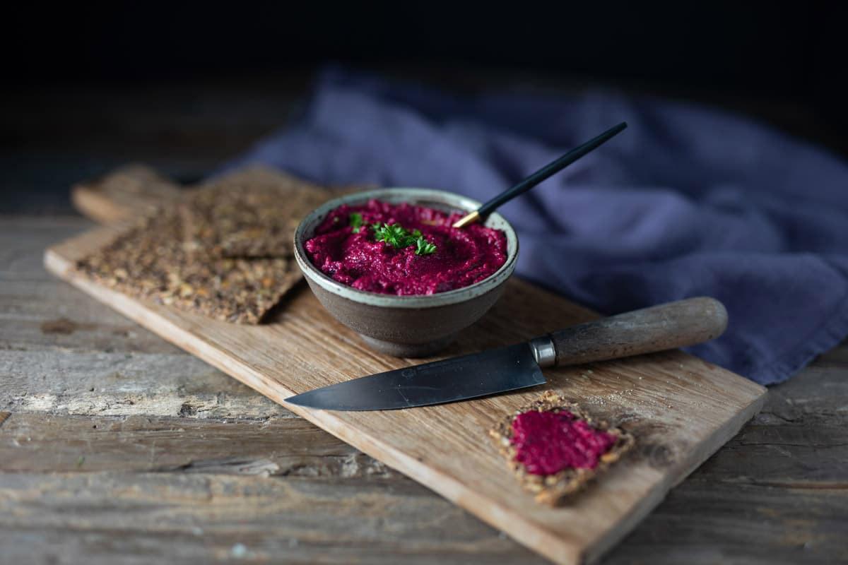 Pink Ume-Hummus