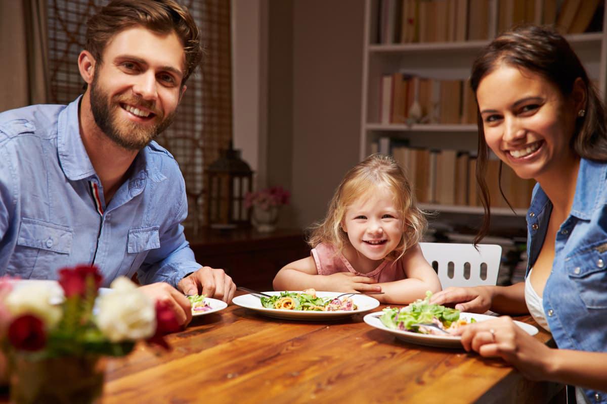 Famiglia che segue il metodo Kousmine