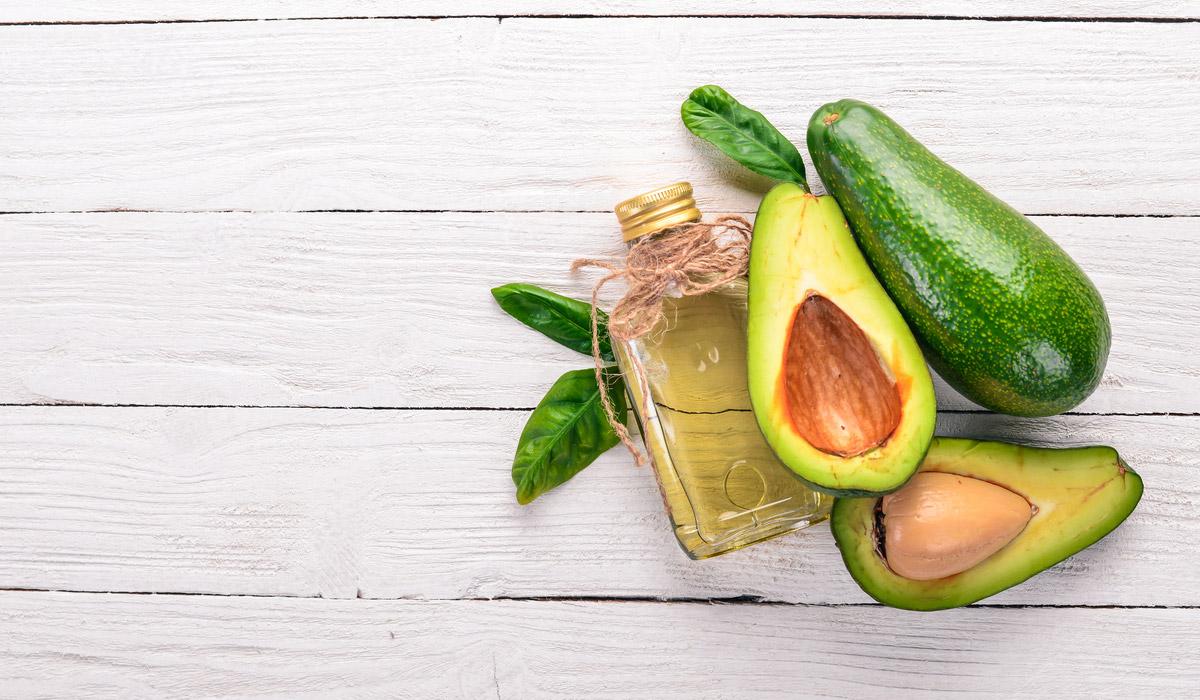 Olio di avocado in cucina