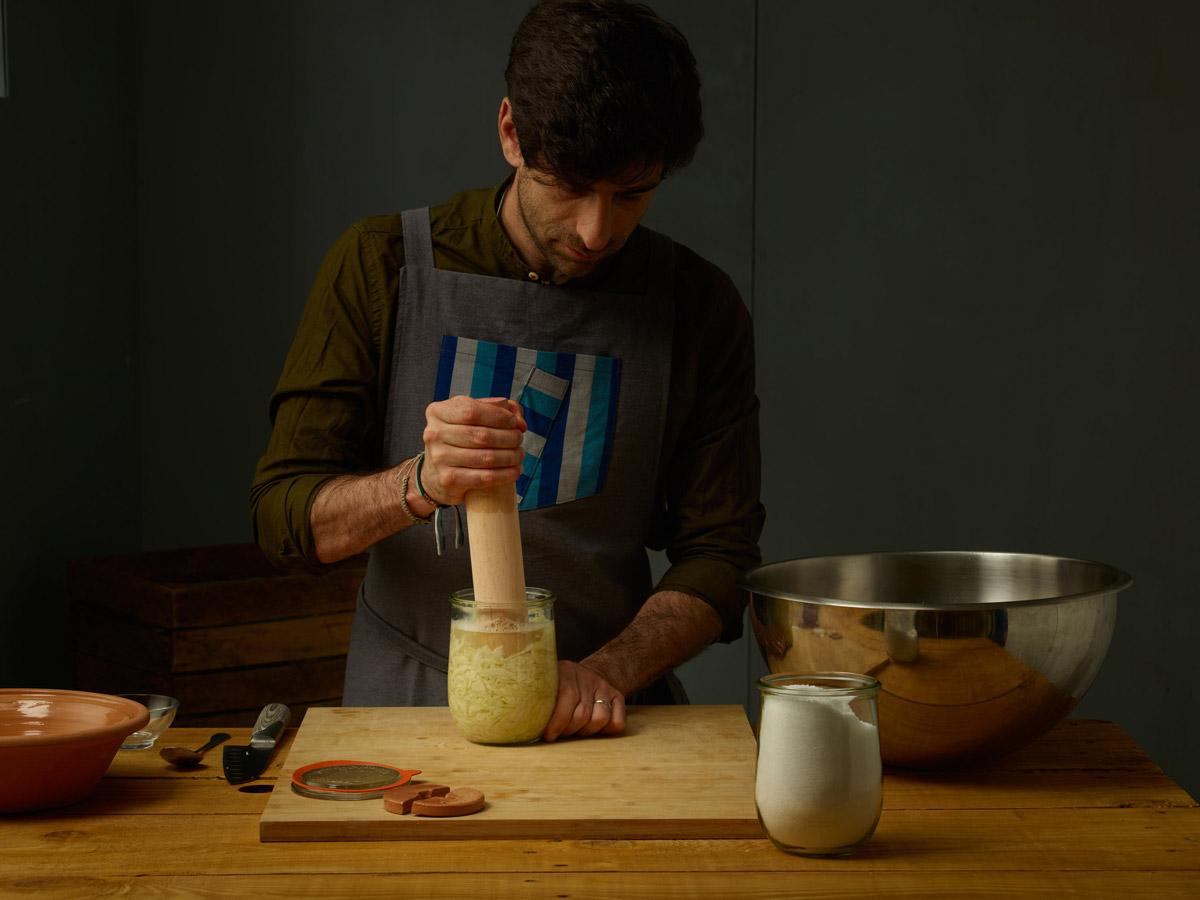 Vasi weck per fermentazione