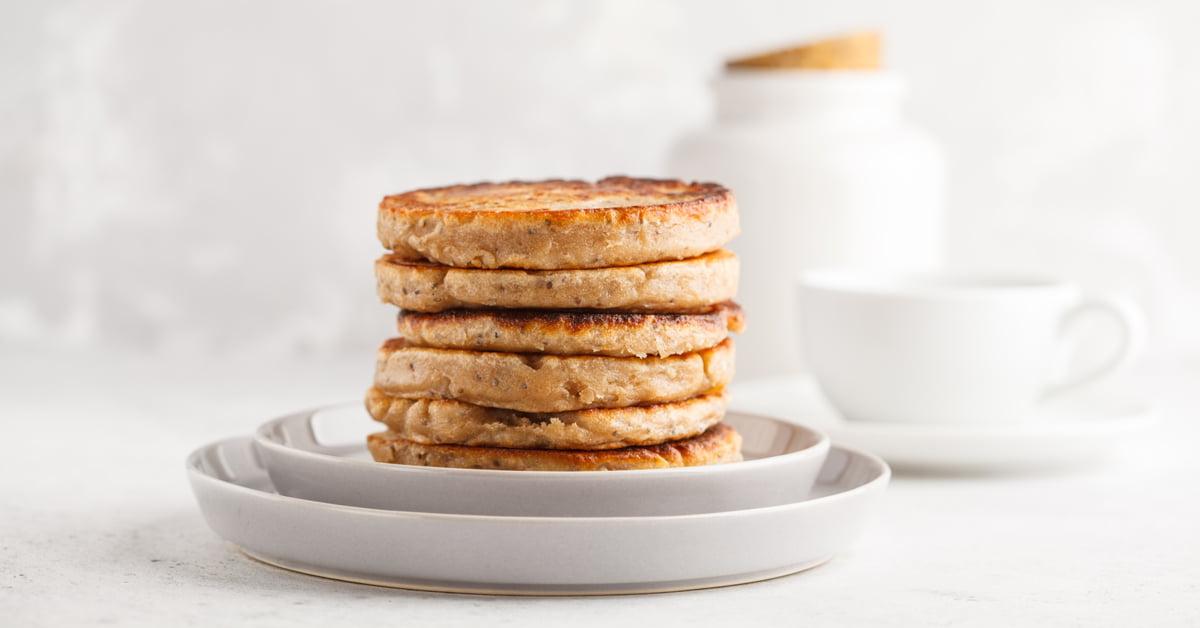 Pancake con acquafaba
