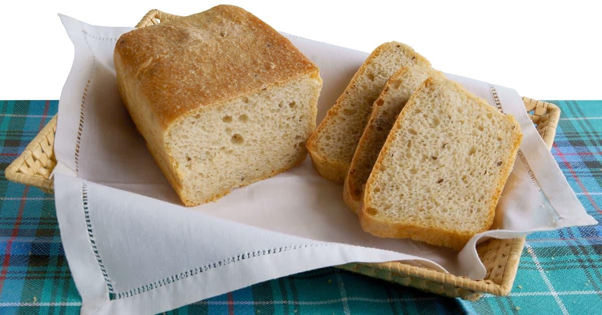 Pan bauletto senza latte