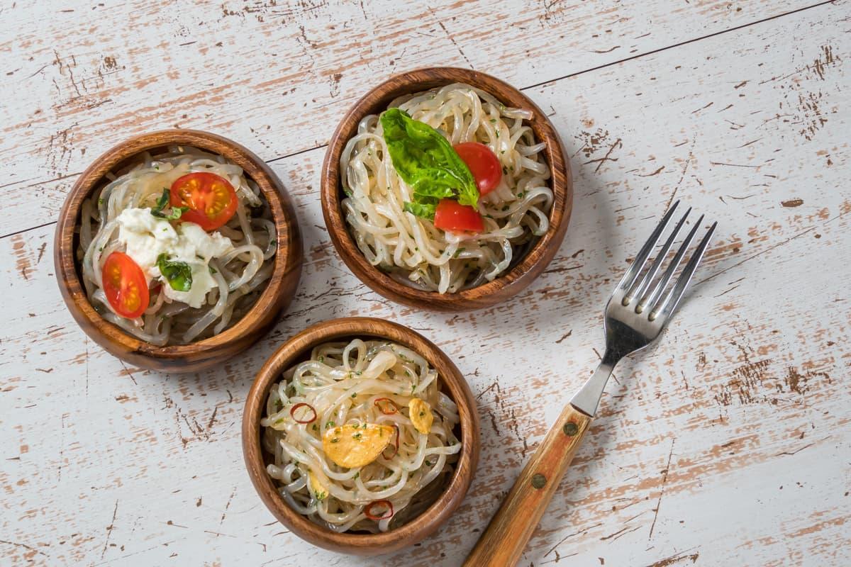 Spaghetti di konjac
