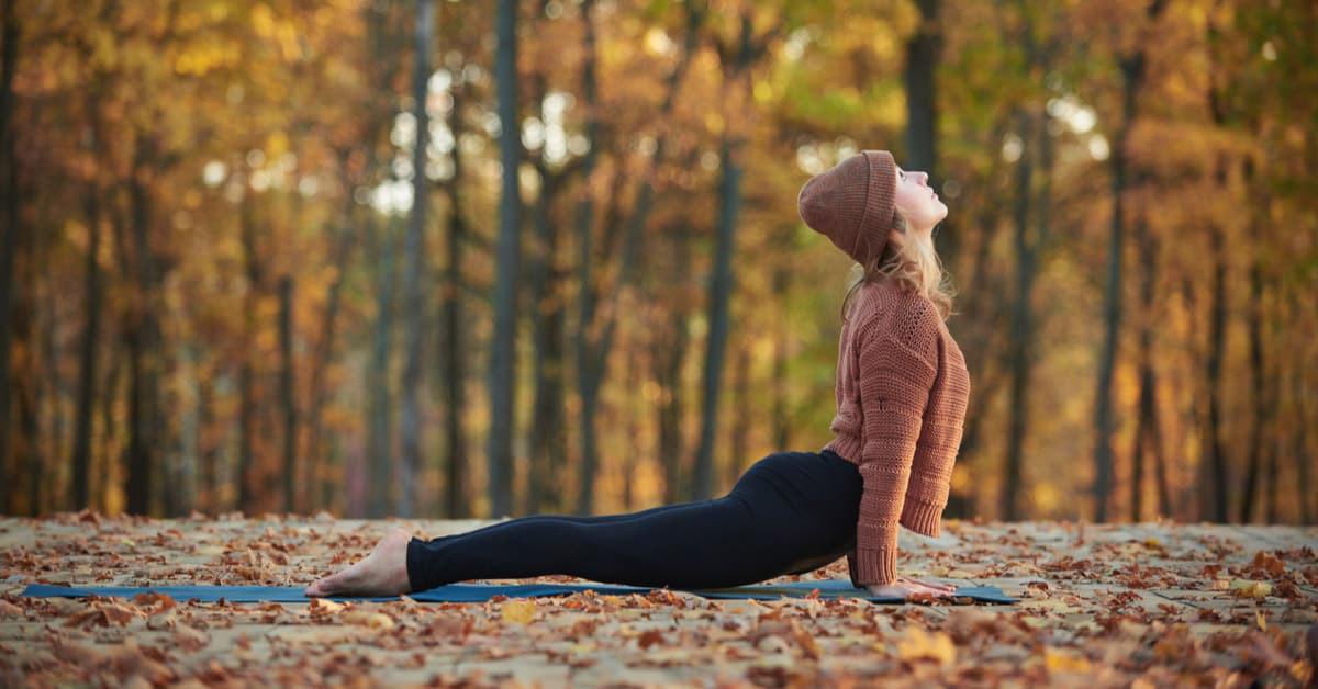 Yoga in autunno