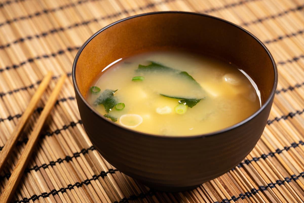 Zuppa di miso con zucca
